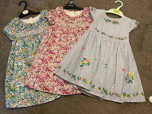Girls M&S Dresses x3, Age 2-3 Years