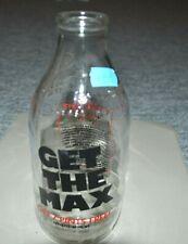 Vintage glass bottle Get the Max (1943)