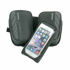 Roswheel Cycling Bike Front Frame Double Pouch Pannier Tube Bag For Cell Phone