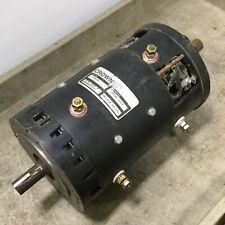 Crown 109595 Forklift Motor Drive, 36VDC / 48VDC, *Modified Shaft & Rust*