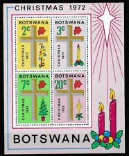 Botswana 1972 Christmas Cross MS SC 95a MNH Mint/Never Hinged
