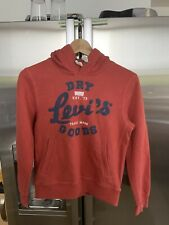 Levis Kids Boys  Hoodie Red Size 12 Years