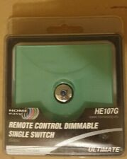 Home Easy Glass Remote Control Single Switch Light  Dimmable HE109G 1 Gang New