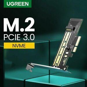 UGREEN M.2 NVME zu PCI E Express 3.0 x4 Adapter karte 32Gbps für M Key SSD 2280