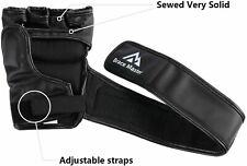 Brace Master MMA Gloves UFC Gloves Boxing Gloves for Men Women Leather More Padd
