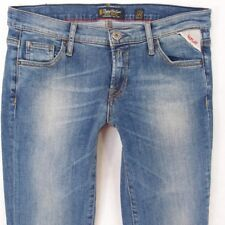 Femme Replay W44 Wendie Stretch Bootcut Jeans Bleu W28 L34 Royaume-Uni Taille 8