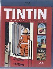 Tintin -Objectif Lune/On a marché s/la Lune/Tintin au pays de l'or noir BLU-RAY