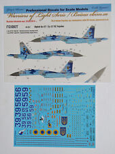Foxbot Decals 1/48 Sukhoi Su-27P Ukranian Air Forces Digital Camouflage # FBOT48