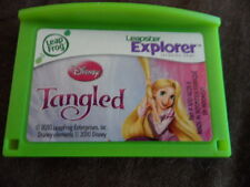 LEAP FROG LEAPSTER LEAP PAD EXPLORER GAMES DISNEY TANGLED 4-7 YEARS
