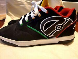 HEELYS PROPEL 2.0 Roller Skate Shoes Sneaker Black Wheel Size 12 Mens
