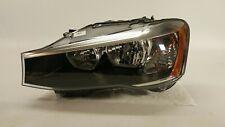 2011 2012 2013 2014 BMW X3 HEADLIGHT DRIVER LEFT SIDE HALOGEN LAMP 11-14 OEM