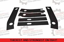 6 pc Frame Repair Rusted Shackle Plates 1986-1995 Jeep Wrangler YJ Rear Rust