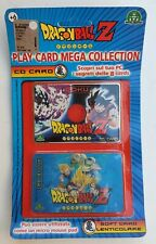 PLAY CD CARD MEGA COLLECTION DRAGONBALL Z MICRO MOUSE PAD GOKU NUOVO