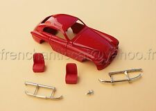 LM' Voiture Ferrari 166 inter rouge resine miniature collector 1/43 Heco modeles