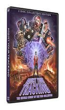 Adjust Your Tracking 2-Disc DVD Set VHS rare horror documentary big box sov