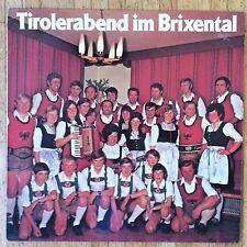 BRAUCHTUMSGRUPPE HOPFGARTEN IN NORDTIROL Tirolerabend im Brixental LP