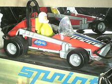 AUTO NASCAR DIRTCHAMP SPRINTS USA/ BEAU JOUET TOLE 27cm MSB 1970 MADE IN  GDR