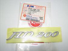 Original SYM Aufkleber Schriftzug  Schrift  in 3D - HD 200 -  ET: 87127-HMA-000