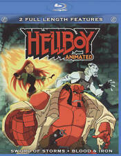 Hellboy Animated: Sword of Storms/Blood & Iron (Blu-ray, 2010)