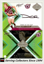 2012 Select NRL Dynasty Signature Redemption Card Dally Cherry-Evans RARE!