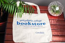 Reusable Tote Bag Gettysburg College Cream Tan Class of 2003