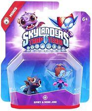 Skylanders TRAP TEAM Minis >> SPRY & MINI JINI << Duo Magie Figuren - NEU & OVP