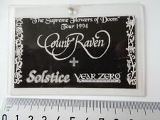 COUNT RAVEN THE SUPREME FLOWERS OF DOOM TOUR 1994 ACCESS PASS? LAMINATED MCC1