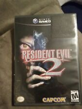 Resident Evil 2 (Nintendo GameCube, 2003) game and case