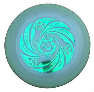 Ultimate Frisbee Discraft UltraStar NIGHT GHOST 175g glow nachtleuchtend Grün