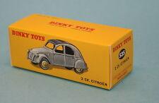 Boite neuve pour Dinky Toys Citroen 2cv N° 24T (535)