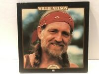 """Country And Western Classics """"Willie Nelson"""" Vinyl set Time Life w/ Book 3 LP"""