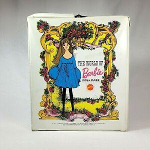Vintage WORLD OF BARBIE Mod Era Single Doll Case White