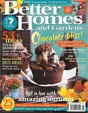 Better Homes and Gardens Magazine - October 2012 FILO Tarts With Goat Cheese