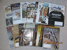 American Rifleman (11 issues) + America's 1st Freedom (11 issues) - 22 total