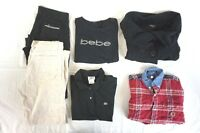 Tommy Hilfiger, Bebe Mixed Lot of 5 Women's Pants & Tops Medium [BK15575]