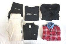 Tommy Hilfiger, Bebe Mixed Lot of 5 Women's Pants & Tops Medium [BK15575]