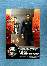 TERMINATOR GENISYS T-1000 POLICE DISGUISE OFFICER 6 INCH FIGURE NECA 2015