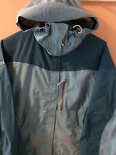 Marmot PreCip Waterproof Rain Jacket ~ Womens XS Sea Blue