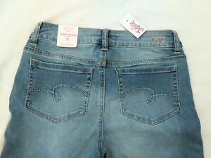 NWT Girls Justice Super Skinny Jeans Size 16 Mid-rise New With Tags