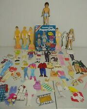 VTG Lot of Paper Dolls/Outfits (73 Items) - SHIPS FREE!