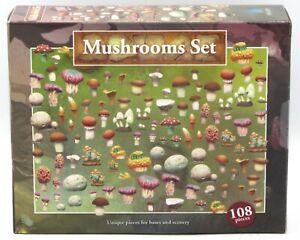 Spellcrow SPCH0073 Mushrooms Set (108 Pieces) Terrain Accessories Scenery Bits