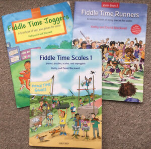 fiddle time joggers and fiddle time runners violin books & fiddle times scales