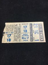 Vintage 5 17 1964 San Francisco Giants  Ticket Stub McCovey Cepeda HR Double HDr
