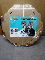Modern Cat Condo 2-pack (NEW! With Bridge) Giraffe Print Cat Amazing STACKS!
