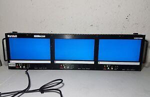 Marshall V-R653P HD-SDI Monitor Triple