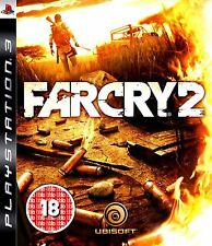 FAR CRY 2 PS3 PlayStation 3 Shooting Video Game Original UK Release New Sealed