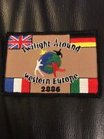 New Never Used Girl Scouts Brownie Badge Patch Twilight Around Western Europe