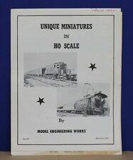 Model Engineering Works MEW Monrovia CA 1961 HO Train Catalog