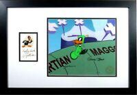 Daffy Duck Dodgers cel signed Chuck Jones Warner Bros Mel Blanc Autograph Becket