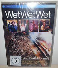 DVD WET WET WET - PLAYING AWAY AT HOME - NUOVO NEW